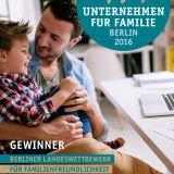 """Best-Practice-Broschüre """"Unternehmen für Familie 2017"""""""