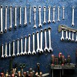 Werkzeugwand; Arbeitsplatz; Lean