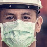 Corona, Maske, Arbeiter