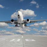 Flugzeug Start BER